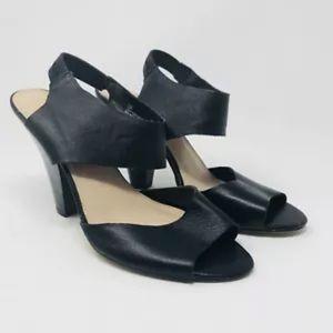 Mossimo Block Strappy Peep Toe Heels Sz 10